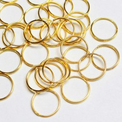 Double rings 10mm ~ 30pcs. (8003)