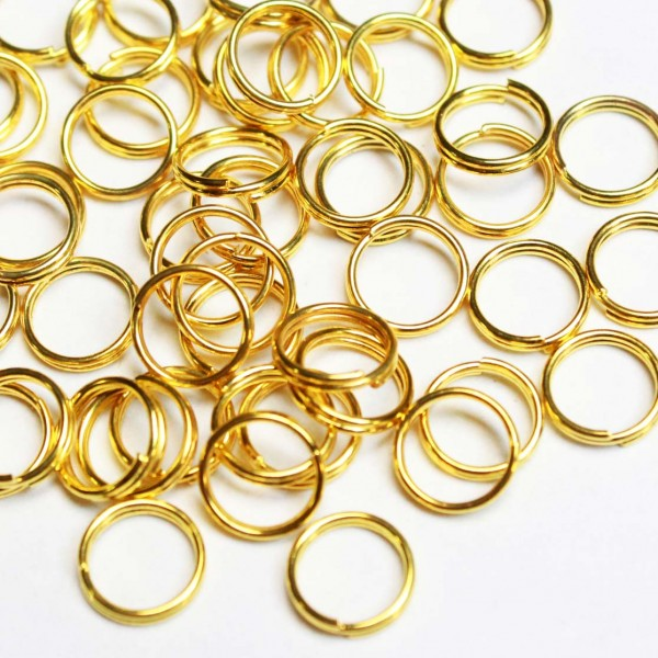 Double rings 5mm ~ 50pcs. (8007)