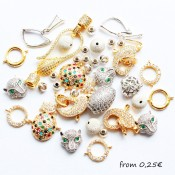 """LUX"" jewelry findings"
