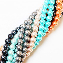 Imitation pearls (Glass)