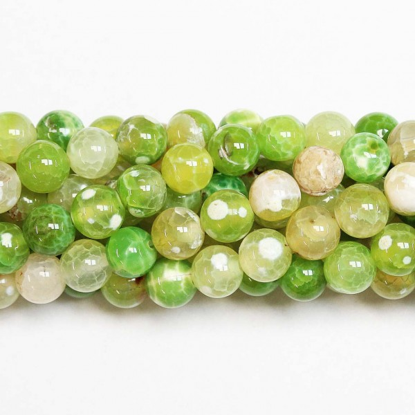 Beads Agate 10mm (0210025)
