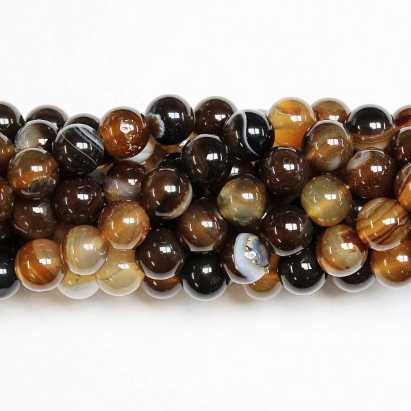 Beads Agate 10mm (0210030)
