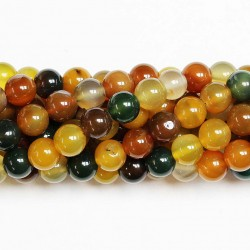 Beads Agate 10mm (0210032)