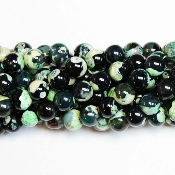 Beads Agate 10mm (0210035)