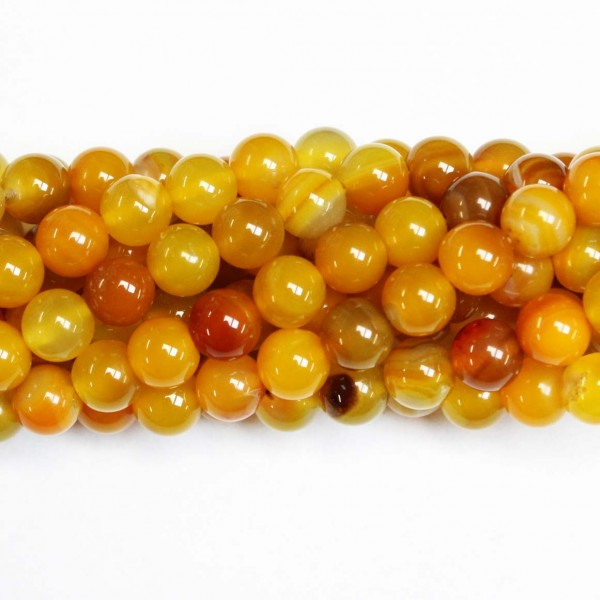 Beads Agate 10mm (0210037)