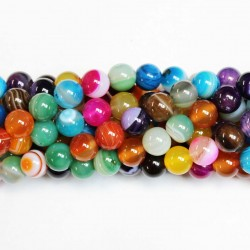 Beads Agate 10mm (0210039)