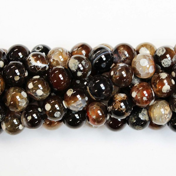 Beads Agate 10mm (0210055)