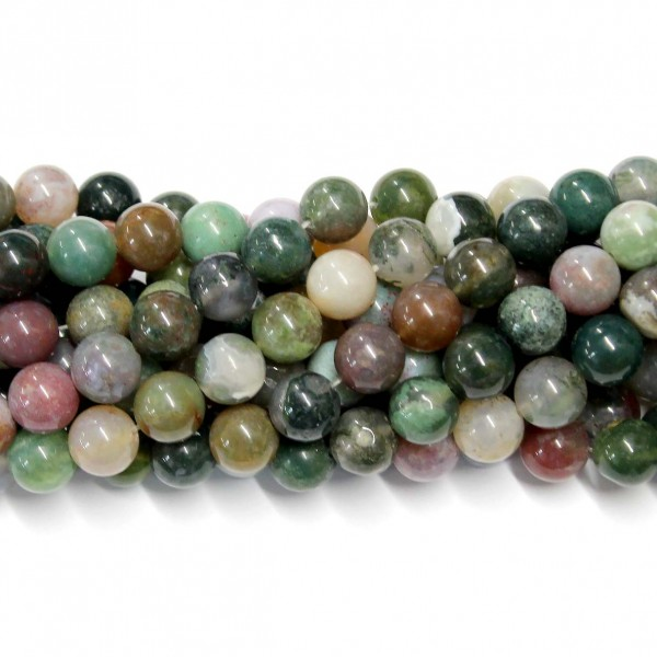 Beads Agate 10mm (0210058)