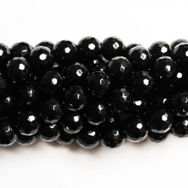 Beads Agate-faceted 10mm (0210000G)