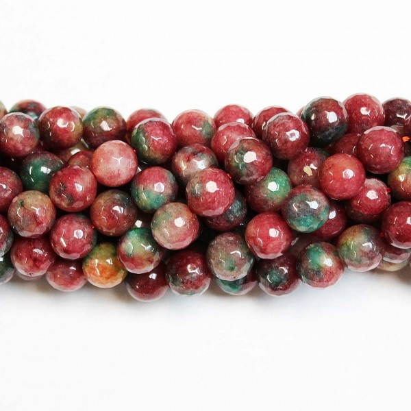 Beads Agate-faceted 10mm (0210022G)