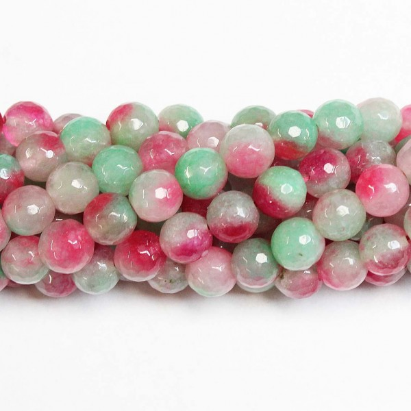 Beads Agate-faceted 10mm (0210030G)
