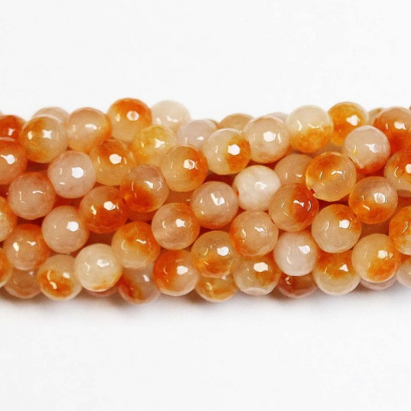 Beads Agate-faceted 10mm (0210031G)
