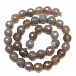 Beads Agate-faceted 10mm (0210035G)