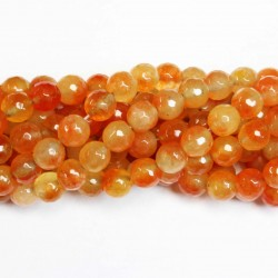 Beads Agate-faceted 10mm (0210037G)
