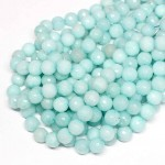 Beads Agate-faceted 10mm (0210055G)