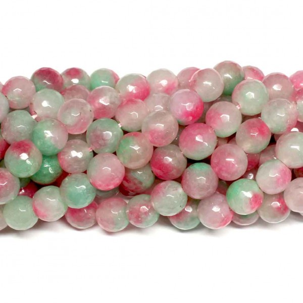 Beads Agate-faceted 10mm (0210083G)