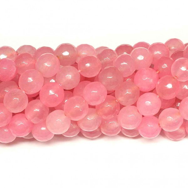 Beads Agate-faceted 10mm (0210086G)