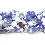Beads Agate-faceted 10mm (0210088G)