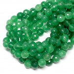 Beads Agate-faceted 10mm (0210090G)