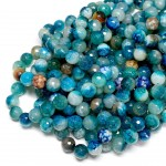 Beads Agate-faceted 10mm (0210092G)