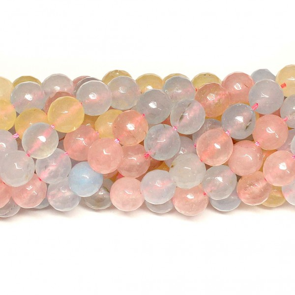 Beads Agate-faceted 10mm (0210129G)