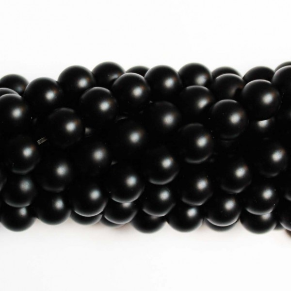 Beads Agate-frosted 10mm (0210000M)