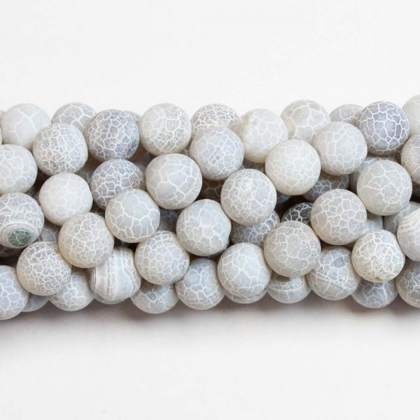Beads Agate-frosted 10mm (0210005M)