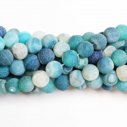 Beads Agate-frosted 10mm (0210012M)