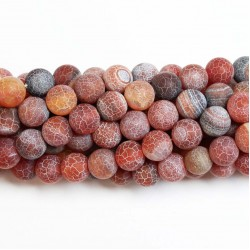 Beads Agate-frosted 10mm (0210013M)
