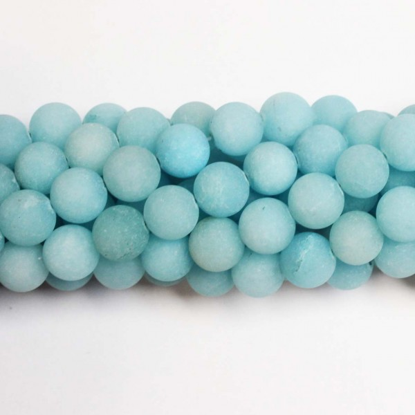 Beads Agate-frosted 10mm (0210024M)