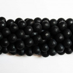 Beads Agate-frosted/faceted 10mm (0210000GM)