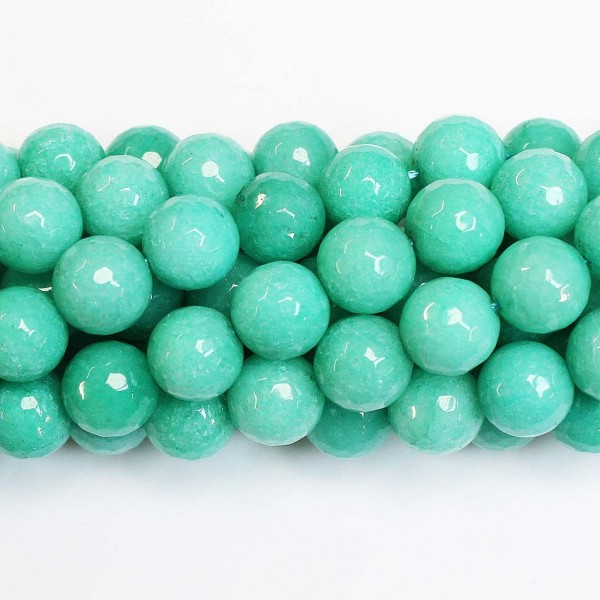 Beads Agate-faceted 12mm (0212023G)