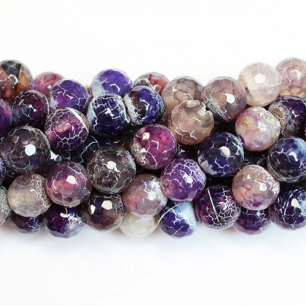 Beads Agate-faceted 12mm (0212026G)