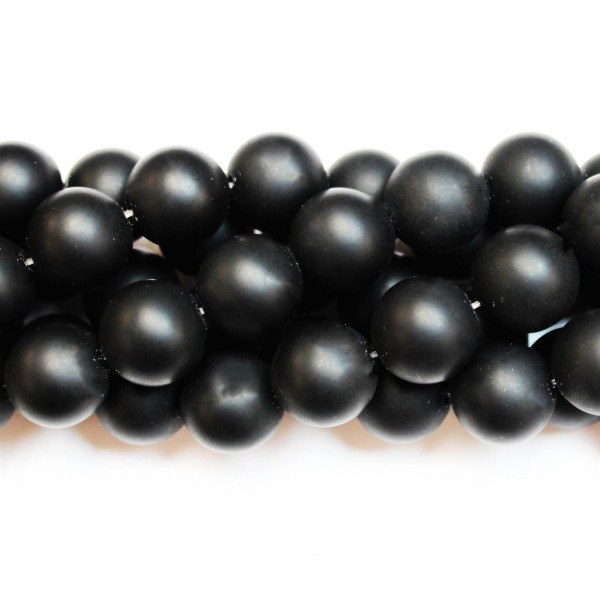 Beads Agate-frosted 16mm (0216000M)