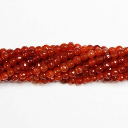 Beads Agate-faceted 4mm (0204004G)