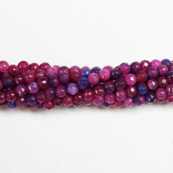 Beads Agate-faceted 4mm (0204012G)