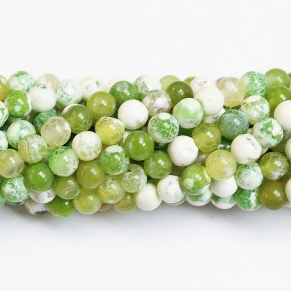 Beads Agate 6mm (0206023)