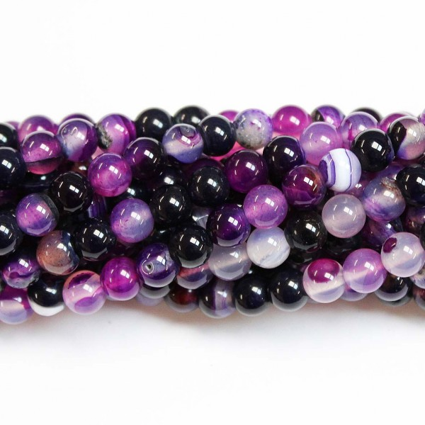 Beads Agate 6mm (0206027)