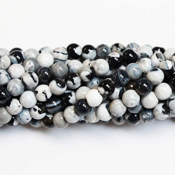 Beads Agate 6mm (0206035)