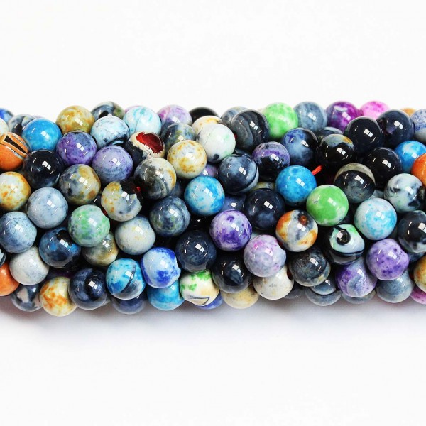Beads Agate 6mm (0206036)