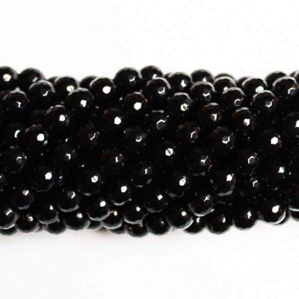 Beads Agate-faceted 8mm (0208000G)