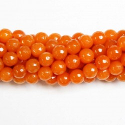 Beads Agate-faceted 8mm (0208037G)