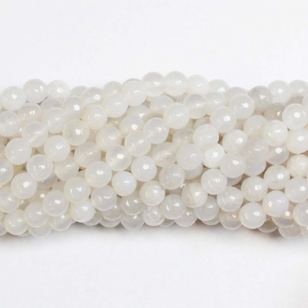 Beads Agate-faceted 8mm (0208041G)