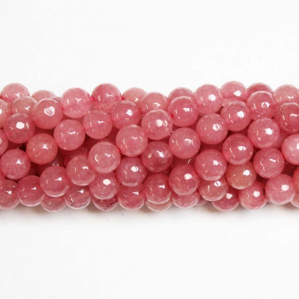 Beads Agate-faceted 8mm (0208042G)