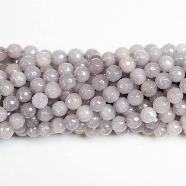 Beads Agate-faceted 8mm (0208044G)