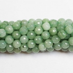 Beads Agate-faceted 8mm (0208046G)