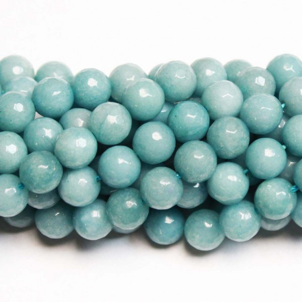 Beads Agate-faceted 8mm (0208026G)