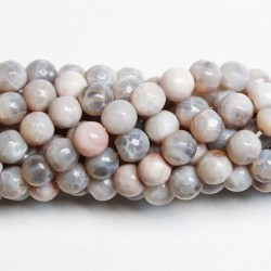 Beads Agate-faceted 8mm (0208003G)