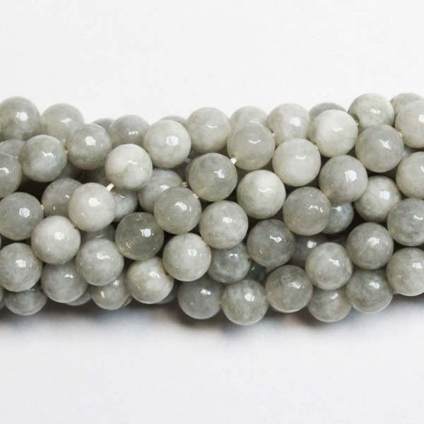 Beads Agate-faceted 8mm (0208005G)