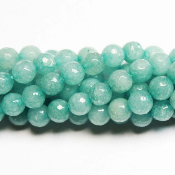 Beads Agate-faceted 8mm (0208009G)